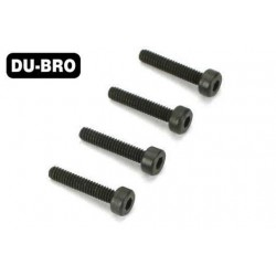 DUB2282 Screws - 4.0mm x 40 Socket-Head Cap Screws (4 pcs per package)