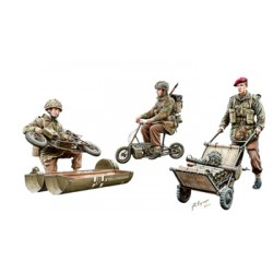 BR35192 WWII Brit. Para In Action SetB 1/35