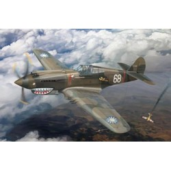 BR4006 P40C Fighter-AVG Flying Tigers 1/48