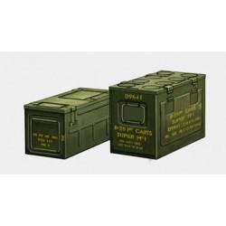 BRAB3512 BRONCO British 25 PDR Ammo Box 1/35