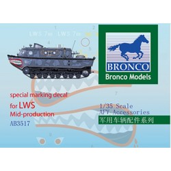 BRAB3517 BRONCO LWS Mid Product Decals 1/35