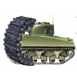BRAB3539 BRONCO Sherman T62 Track Link 1/35
