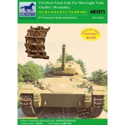 BRAB3573 T72 Track Link for M24 Tank 1/35