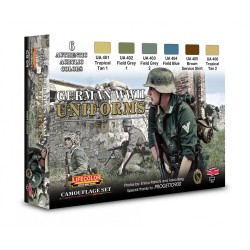 LCCS04 German Uniforms WWII Set 1