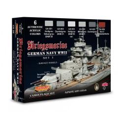 LCCS09 WWII Kriegsmarine Camouflage Set
