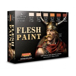 LCCS13 Flesh Paint Set