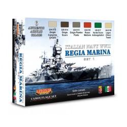 LCCS15 Italian Regia Marina WWII colors