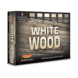 LCCS38 White Wood Set 2 (6c.)
