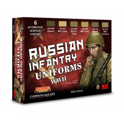 LCCS42 Russian Infantry Uniforms Set
