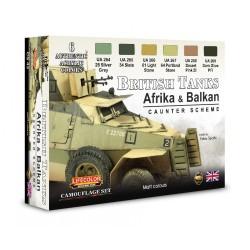 LCCS43 British Tanks (Afrika & Balkan)