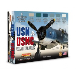 LCCS46 USM & USMC WWII Colours Set