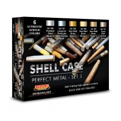 LCCS47 Shell Case Perfect Metal Set 1