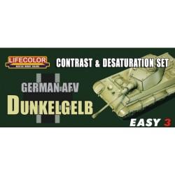 LCMS01 Contr.&Desatur. Set Germ.Dunkelgelb
