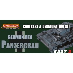 LCMS02 Contr.&Desatur. Set Germ.PanzerGrau
