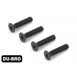DUB2286 Screws - 3.0mm x 8 Flat-Head Socket Screws (4 pcs per package)