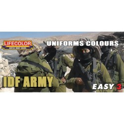 LCMS10 Easy 3 Uniforms Colours IDF Army
