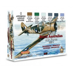 LCXS01 Australian Air Force WWII Set 1