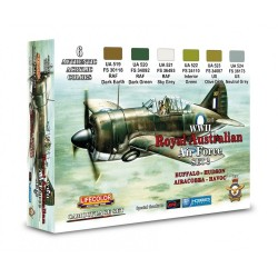 LCXS02 Australian Air Force WWII Set 2