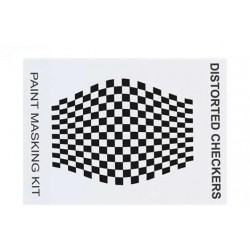 XM002L Masque de peinture - Distorted Checkers