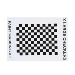 XM016L Masque de peinture - X Large Checkers