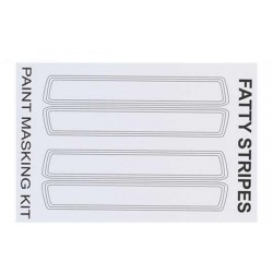 XM022L Masque de peinture - Fatty Stripes