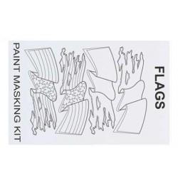 XM045L Masque de peinture – Flags