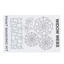 XM048L Masque de peinture - Widow Webs