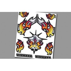 XR001 Autocollant Interne - Chromal Blaze