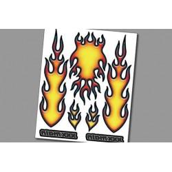 XR004 Autocollant Interne – Fire