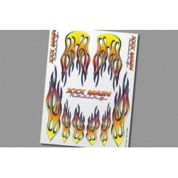 XS009 Autocollants - Pro Flames