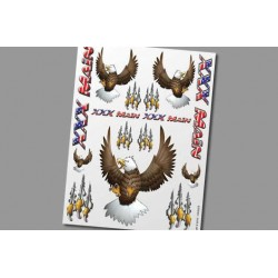 XS010 Autocollants – Eagles
