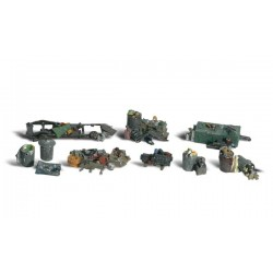 WLS-A1852 HO Assorted Junk