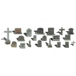 WLS-A1856 HO Tombstones