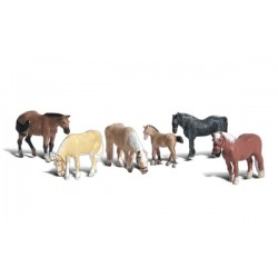 WLS-A1862 HO Farm Horses