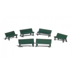 WLS-A1879 HO Park Benches