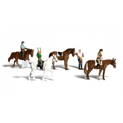 WLS-A1889 HO Horseback Riders