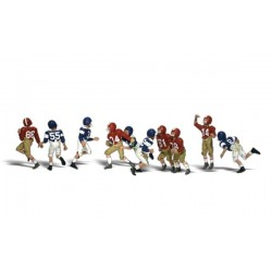 WLS-A1895 HO Youth Football Players