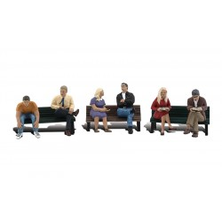 WLS-A1924 HO People On Benches