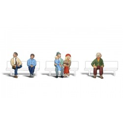 """WLS-A2043 Personnes assises - échelle 1/4 """""""