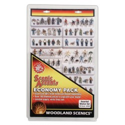 WLS-A2052 HO Assorted Workers Economy Pk