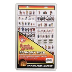 WLS-A2053 HO Assorted Figures Economy Pk