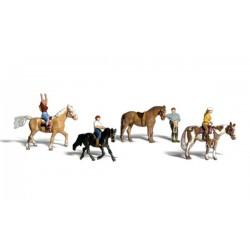 WLS-A2159 N Horseback Riders