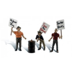 WLS-A2557 STRIKING PICKETERS G