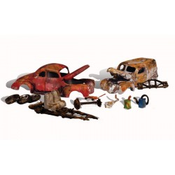 WLS-AS5563 JUNK CARS HO