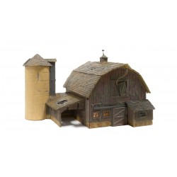 WLS-BR5038 OLD WEATHERED BARN HO