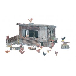 WLS-D215 CHICKEN COOP