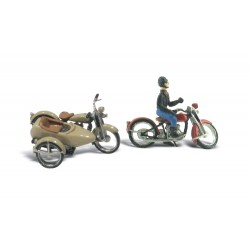 WLS-D228 MOTORCYCLES + SIDECAR