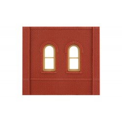 WLS-DPM30103 Dock Level Arched Window (x4)