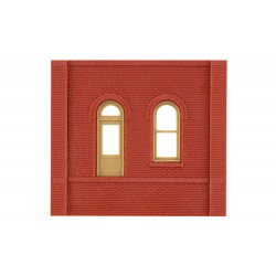 WLS-DPM30105 Dock Level Arched Entry Door (x4)