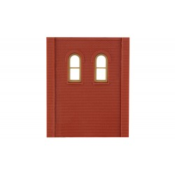 WLS-DPM30109 Two-Storey Two Upper Arched Window Wall